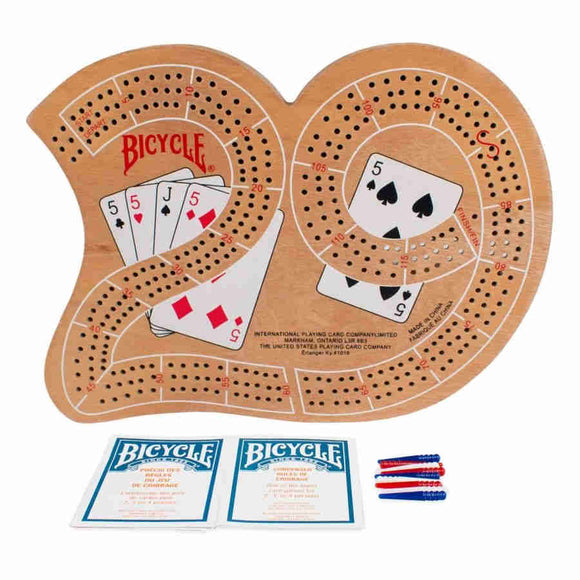 Bicycle: Large 29 Cribbage Board