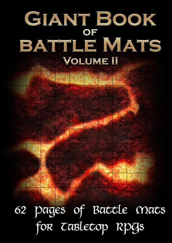 Battle Mats: Giant Book of Battle Mats: Volume 2