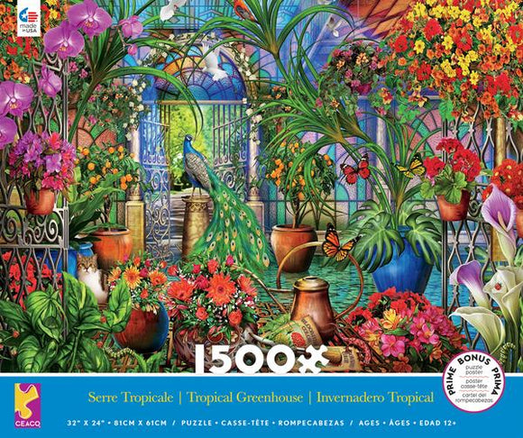 Tropical Greenhouse 1500 pc Puzzle
