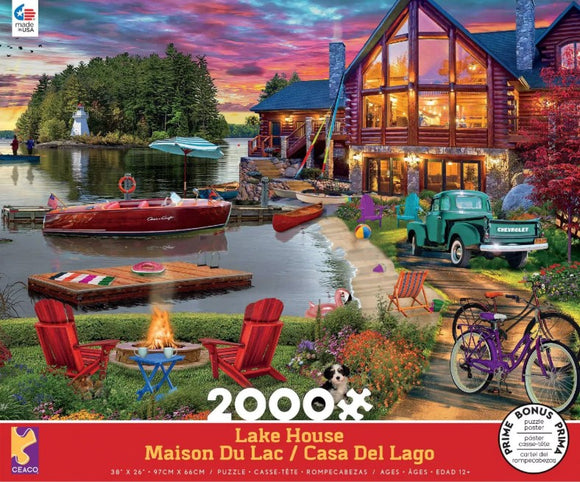 Lake House (2000 pc puzzle)