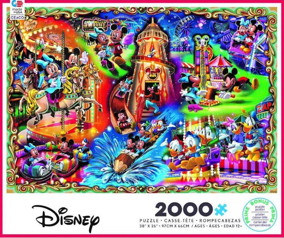 Mickey's Carnival (2000 pc puzzle)
