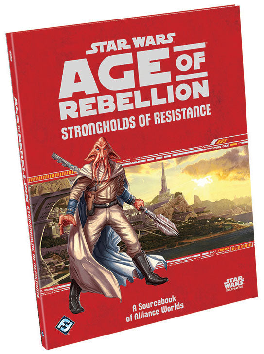 Star Wars RPG: Age of Rebellion - Strongholds of Resistance Hardcover