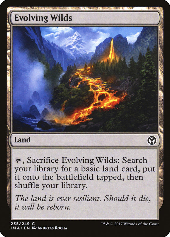 Evolving Wilds [Foil] :: IMA