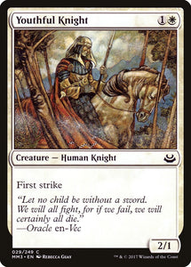 Youthful Knight [Foil] :: MM3