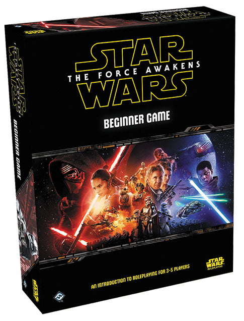Star Wars RPG: The Force Awakens - Beginner Game