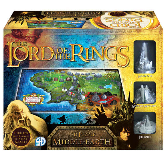 4D Lord of the Rings, Middle Earth