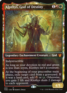 Klothys, God of Destiny (Showcase) [Foil] :: THB