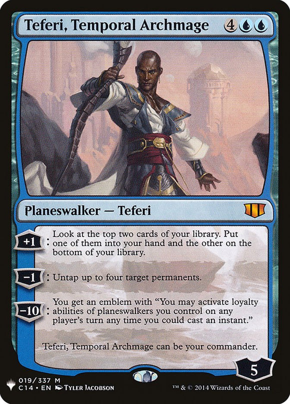 Teferi, Temporal Archmage :: MB1