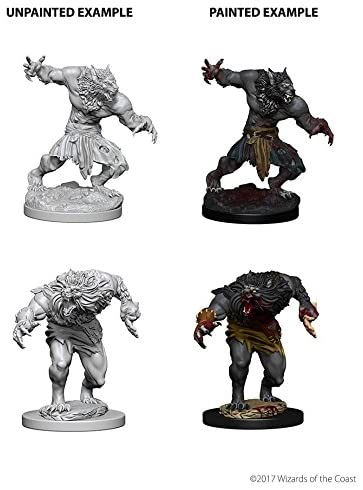 D&D Nolzur's Marvelous Unpainted Miniatures: W4 Werewolves