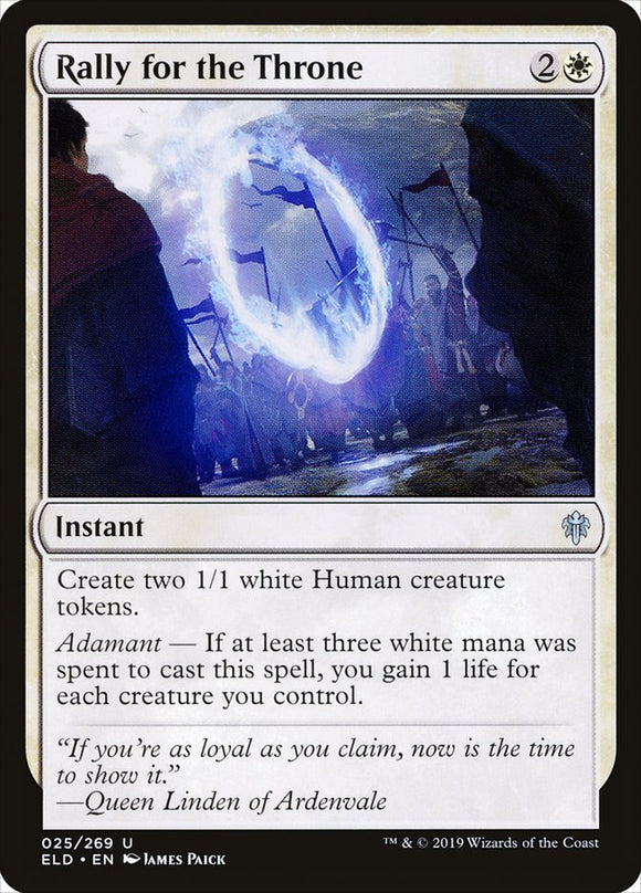 Rally for the Throne [Foil] :: ELD