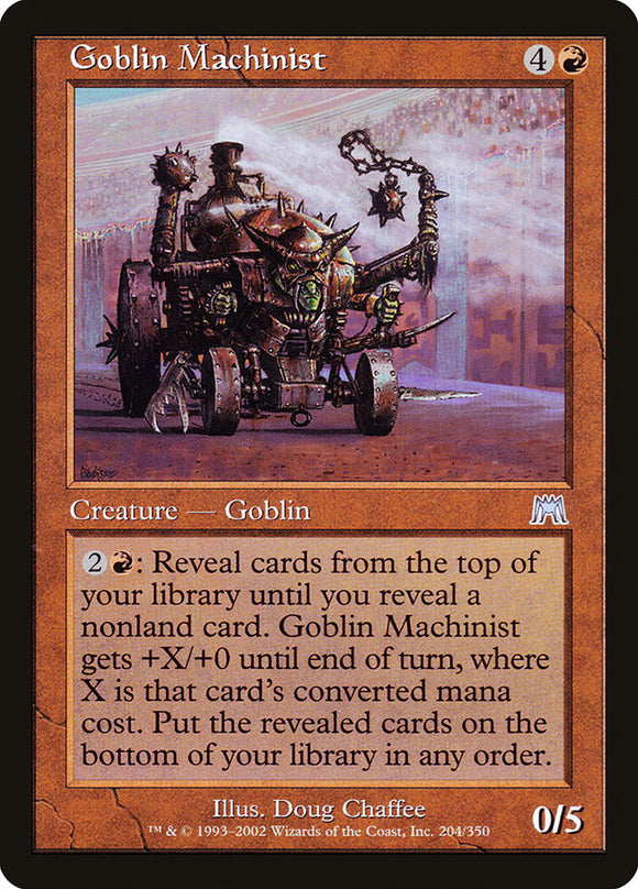 Goblin Machinist :: ONS
