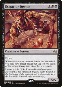 Extractor Demon [Foil] :: MM3