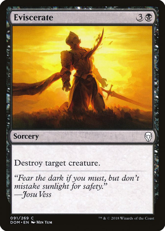 Eviscerate [Foil] :: DOM