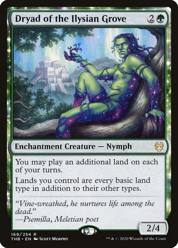Dryad of the Ilysian Grove [Foil] :: THB
