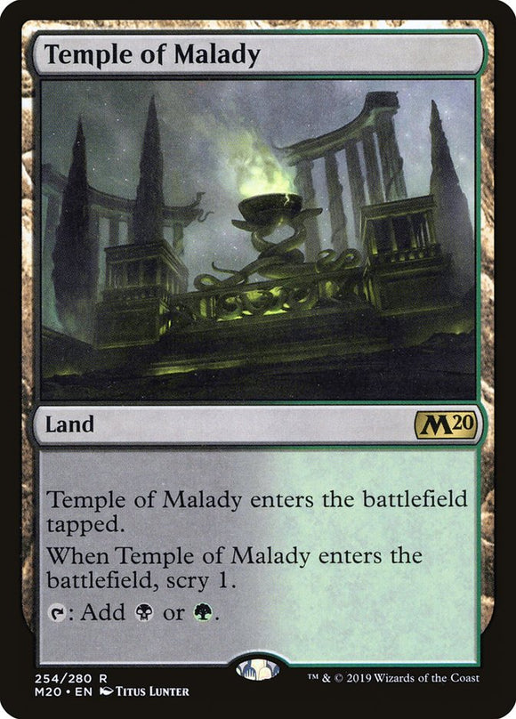 Temple of Malady [Foil] :: M20