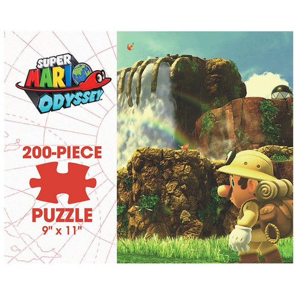 Super Mario Odyssey - Cascade Kingdom (200 pc puzzle)
