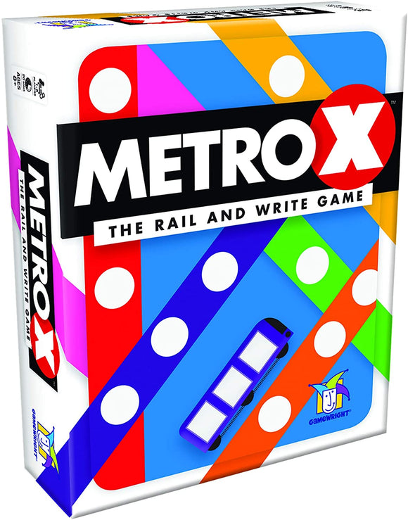 Metro X - The Rail & Write Game