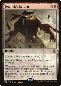 Kozilek's Return [Foil] :: OGW