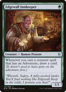Edgewall Innkeeper [Foil] :: ELD