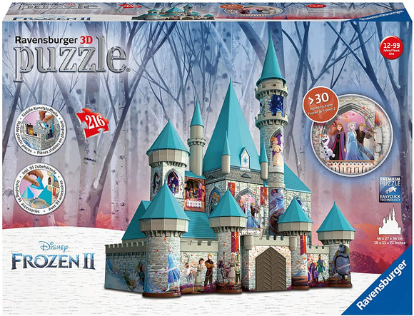 Disney Frozen 2 Castle 3D Puzzle