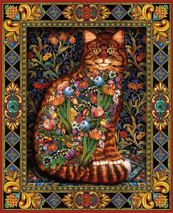 Tapestry Cat (1000 pc puzzle)