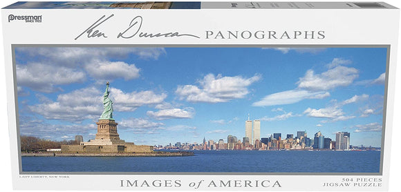 Images of America Panoramic Puzzle - Lady Liberty