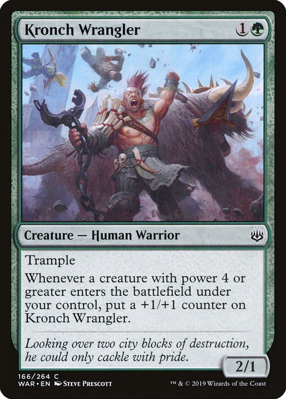 Kronch Wrangler [Foil] :: WAR