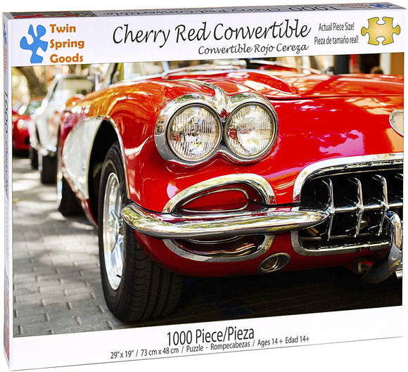 Cherry Red Convertible (1000 pc puzzle)