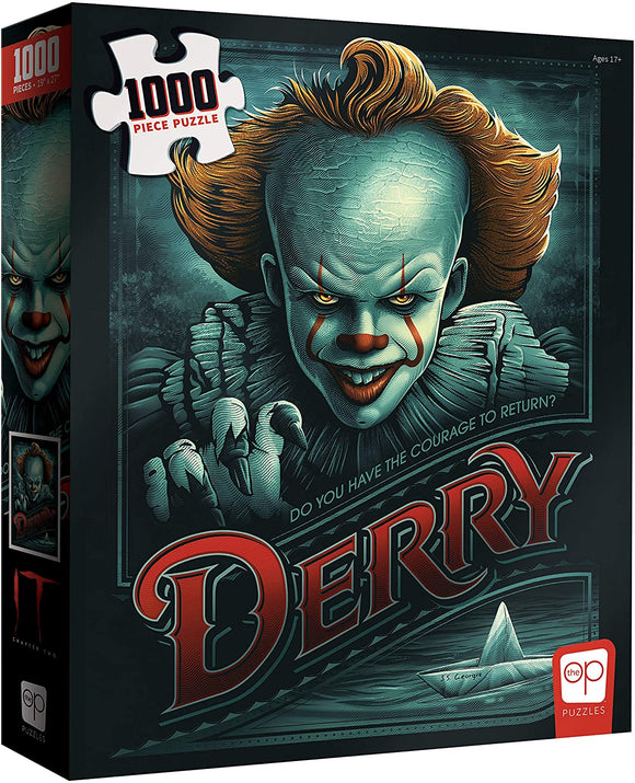 It: Chapter Two - Return to Derry (1000 pc puzzle)