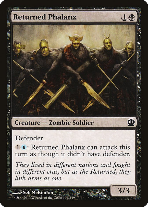 Returned Phalanx [Foil] :: THS