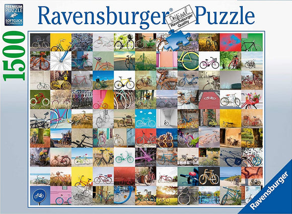 99 Bicycles (1500 pc puzzle)