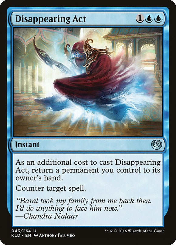 Disappearing Act [Foil] :: KLD