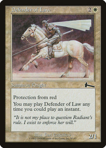 Defender of Law [Foil] :: ULG