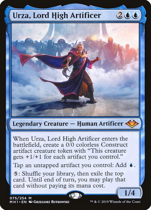 Urza, Lord High Artificer [Foil] :: MH1
