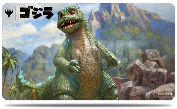 Magic: The Gathering Ikoria Playmat: Baby Godzilla, Ruin Reborn