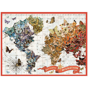 Butterfly Migration (1000 pc puzzle)