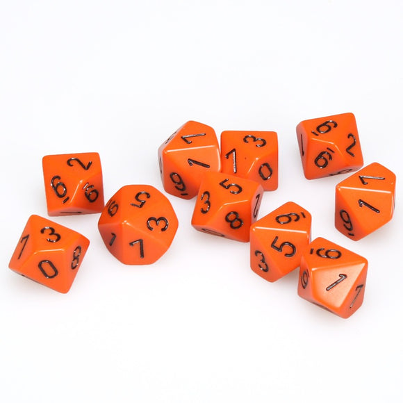 CHX 26203 (Opaque Orange/Black D10's)