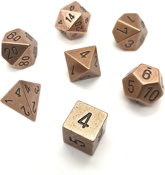 Chessex Metal Polyhedral 7-Die Set