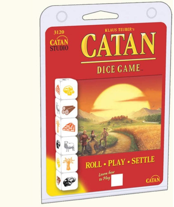 Catan: Dice Game - Clam Shell Edition