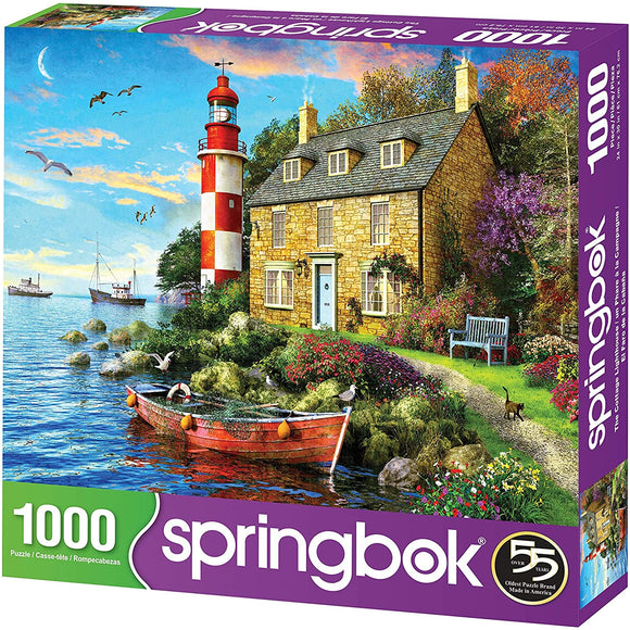 The Cottage Lighthouse (1000 pc puzzle)