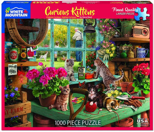 Curious Kittens (1000 pc puzzle)