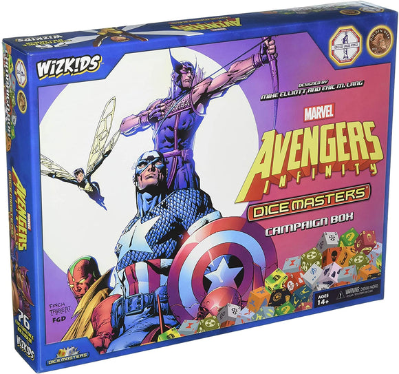 Dice Masters:  Marvel Comics Avengers Infinity Campaign Box