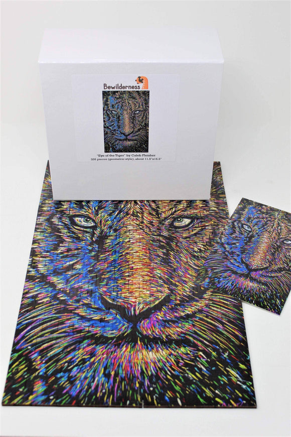 Eye of the Tiger (326 pc wooden puzzle)