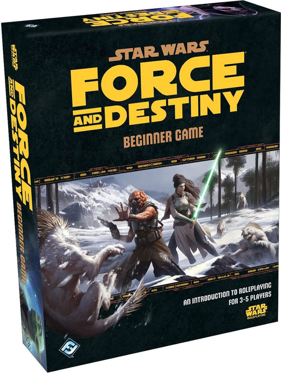 Star Wars RPG: Force and Destiny - Beginner Game
