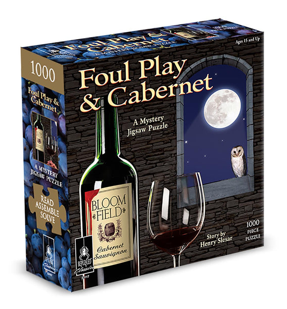 Foul Play & Cabernet; A Mystery (1000 pc puzzle)
