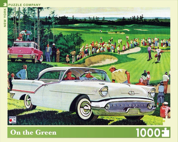 On the Green (1000 pc puzzle)