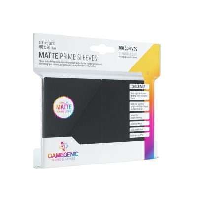 Gamegenic Matte Prime Sleeves (100 pack)