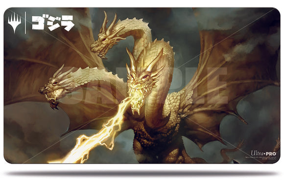 Magic: The Gathering Ikoria Playmat: Ghidorah, King of The Cosmos