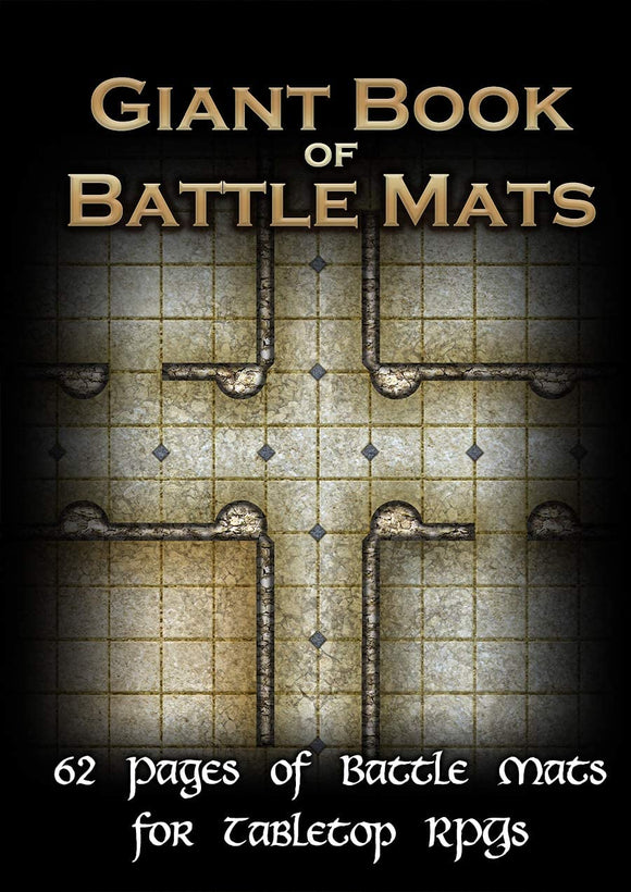 Battle Mats: Giant Book of Battle Mats