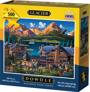 Glacier National Park (500 pc puzzle)